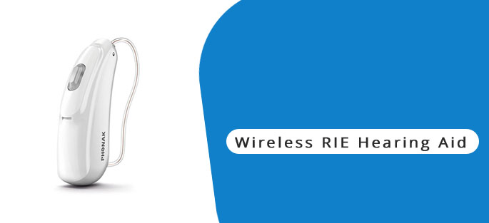 Wireless RIE Hearing Aid