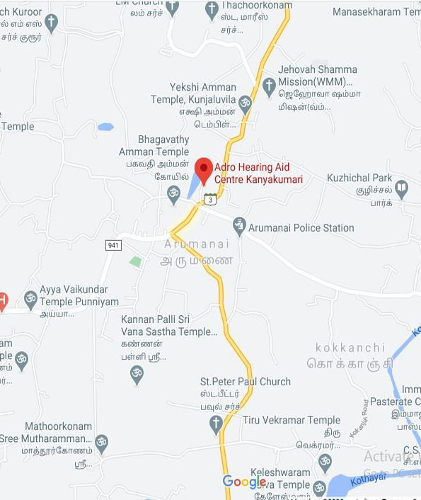 hearing aid centre in kanyakumari